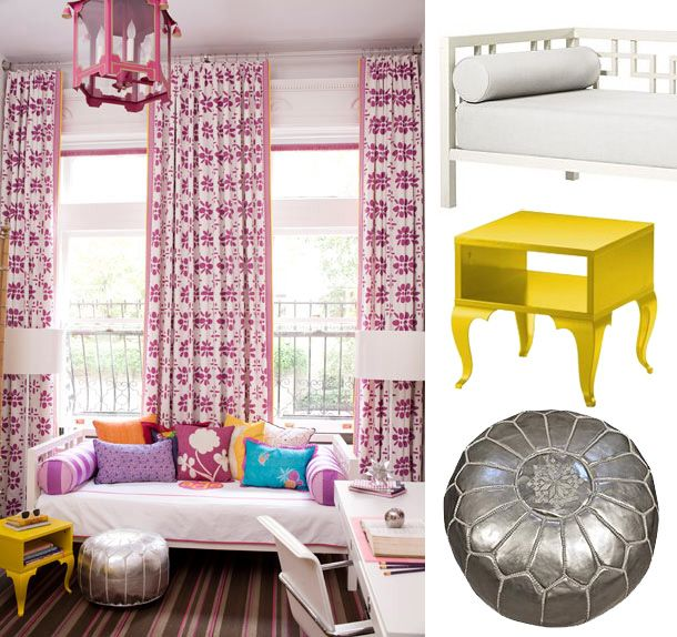 Bright Colorful Tween Bedroom: 63 Best Images About Moraccan Room For Girls