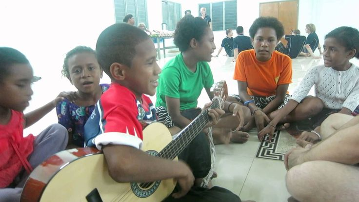 Hosanna, Hosanna (Papua New Guinea Worship Song) READ ME  This video was recorded in a village church in Port Moresby. These children were so sweet and talented. See the lyrics and English translat...