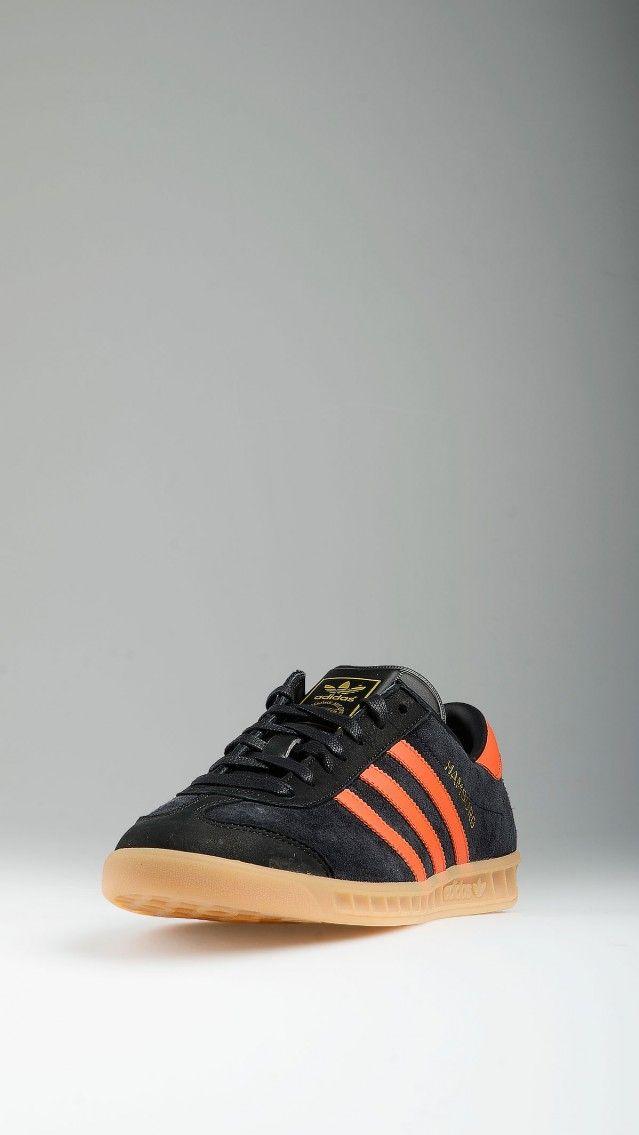 ADIDAS - Black and orange Hamburg