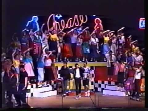 Love the teachers at the beginning Grease - Carroll High School (1990) - YouTube
