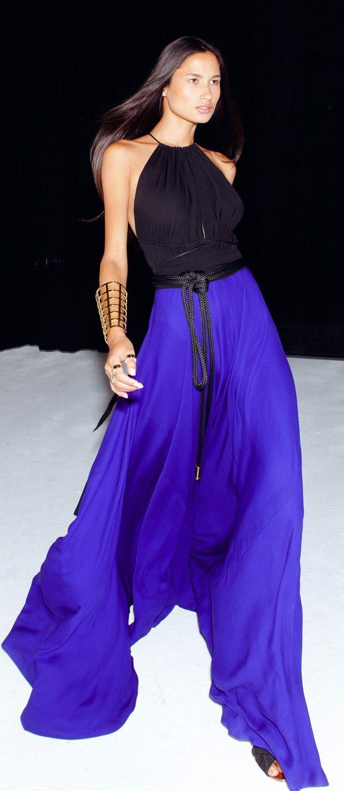 Designer fashion | Juan Carlos Obando resort. This looks like it feels so good to wear