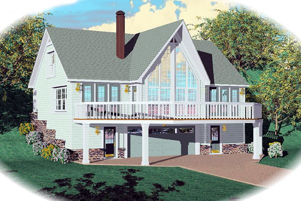 17 best images about houses on pinterest house plans Hillside house plans for sloping lots