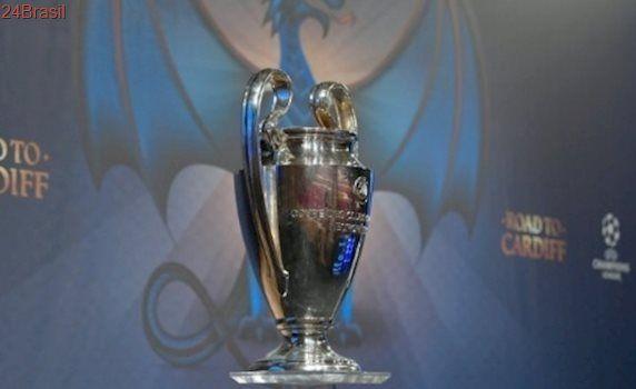 Sorteio define: Bayern x Real e Juve x Barça serão jogos das quartas da Liga