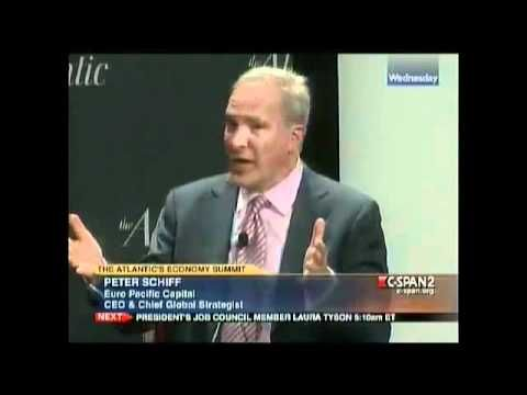Atlantic Economy Summit on C-Span: Peter Schiff . A lot of what he says makes perfect economic sense. Not fun to go through as a citizen, but makes sense to right the economy.