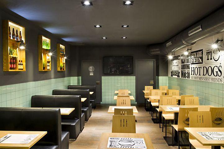 frankfurt station fast food restaurant by egue y seta barcelona 05 restaurant design. Black Bedroom Furniture Sets. Home Design Ideas