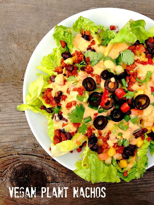 """Gangster from farm to f**k yeah! Plant Nachos with #Vegan Queso """"vegveeta"""" inspired by Ron Finley @Ted Talks & @Thug Kitchen #glutenfree"""