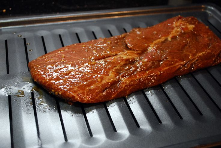 Place the steaks onto a broiler pan