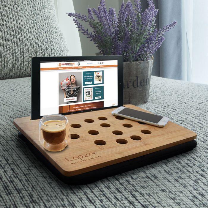 Laptoptisch Mit Tablet Halterung 2in1 Knietablett Tablet