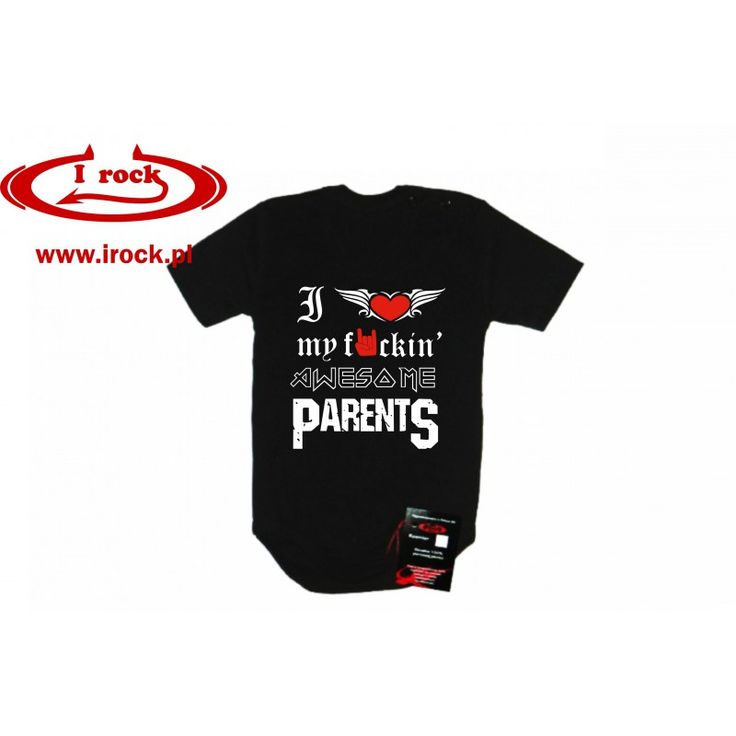 http://irock.pl/rockbaby-ubrania-dzieciece/150-i-love-my-fuckin-awesome-parents.html  i love my fuckin' awesome parents rock body baby kids children tshirt longsleeve clothes pantera iron maiden metal dziecko dzieci rockowe ubrania ciuszki czarne woodstock castle party
