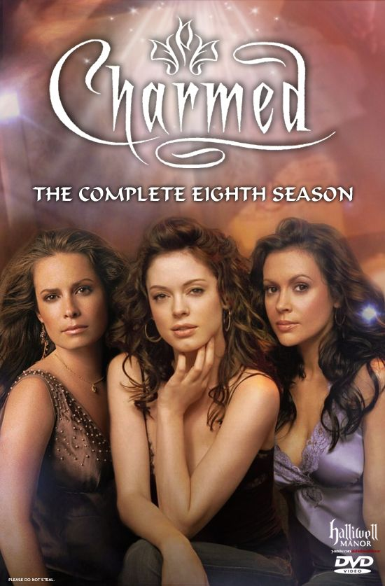 Charmed S8 Alternate Dvd Cover Dvd Covers Watch Tv Shows Dvd