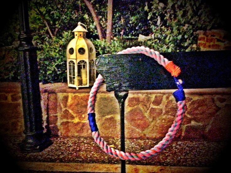 """""""Tutu"""" DIY rope necklace!"""