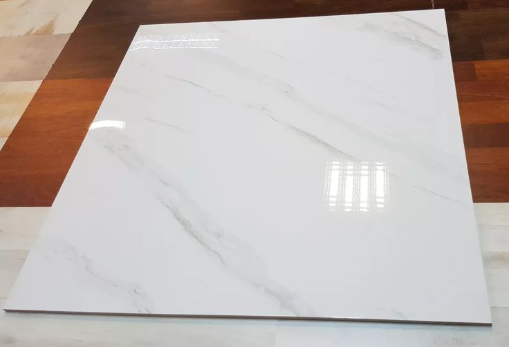 Porcelanato 60x60 Blanco Puro Y Carrara Vetas Grises - $ 490,00 en Mercado Libre