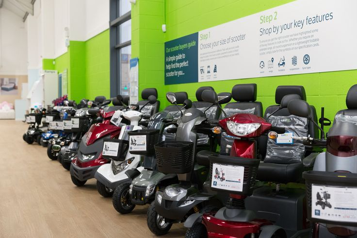 We have a fantastic range of Mobility Scooters in our Leicester Showroom. Come down today to see fro yourself, call 0116 253 8822 to find out more!