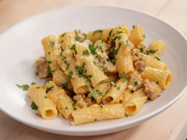 Get Rigatoni with Sausage & Fennel Recipe from Food Network