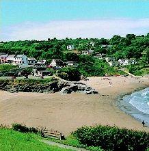 Aberporth beach Ceredigion, West Wales, UK