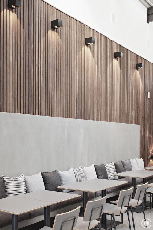 Restaurant modern interior design inspiration byCOCOON.com #COCOON Dutch designer brand.