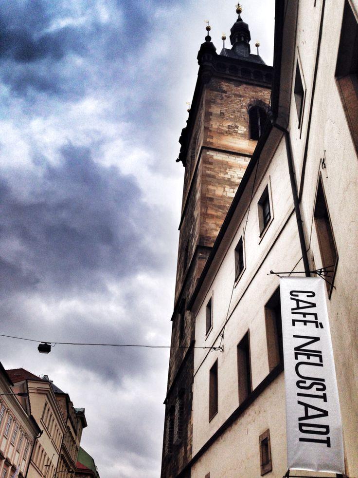 Love this hipster Cafe in #Prague - Neustadt - www.urbankristy.com