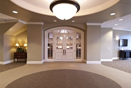 Our church is building a foyer onto our sanctuary. Description from pinterest.com. I searched for this on bing.com/images