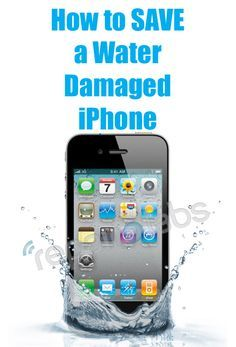 How to SAVE a #water #damaged #iphone. For Gayla