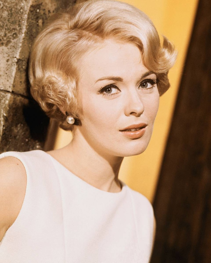 """JEAN SEBERG - """"I styled her hair while working at the Garland salon in the 50s, while my friend Jean Louis David was also working there. Her short look in Breathless was one of my favorites, as I loved her natural, pixie-style haircut. She wore it so well, even before Twiggy made the pixie famous. It brought out her eyes & beautiful lines of her neck. It was simply beautiful & really encompassed my philosophy of a natural hair beauty."""" The 82-Year-Old Inventor of Blowouts on His Muses - The…"""
