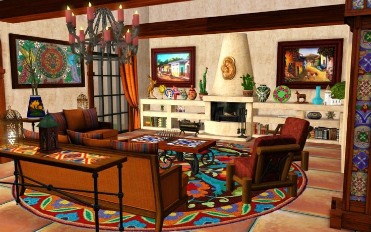 Design Style Traditional Mexican The Sims 3 I Love
