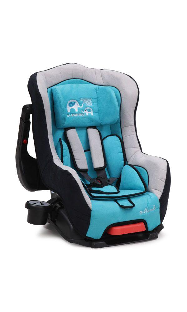 Ninio.ro va pune la dispozitie pentru achizitionare: Scaun Auto Moni Babyguard ajustabil pentru bebelusi de pana la 18 kilograme greutate. Este un accesoriu extrem de versatil pentru copilul dumneavoastra, putand fi folosit atat pe scaunul din fata cat si pe cel din spate, atat cu fata la drum cat si cu spatele. Este prevazut cu o pernita speciala pentru capul nou nascutului. Are si un maner de transport ajustabil in mai multe pozitii pentru transport facil si comod.