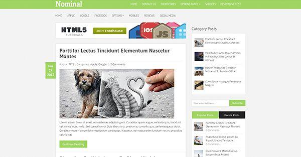 Pinstagram MyThemeShop Wordpress theme free download - http ...