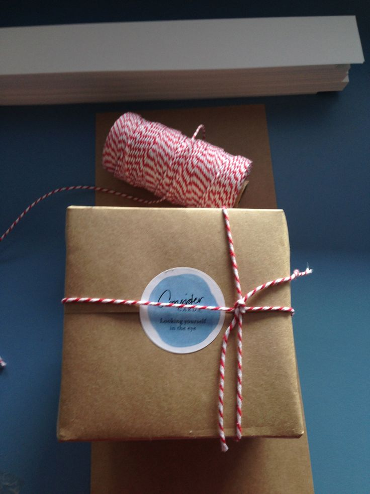 Hand wrapped with love.  #ConsiderCards by Margi Hoy