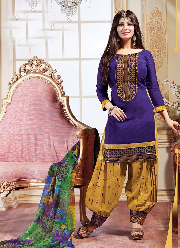Purple Punjabi Style Patiala Salwar Suits @ http://www.suratwholesaleshop.com/salwar-kameez/patiala-suits?view=catalog  #Punjabisalwarsuits #Salwarsuits #Onlinesalwarsuits #Punjabisalwarkameez #Onlinesupplier #Ethnicsalwarsuits