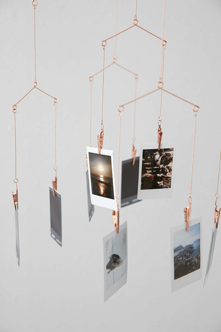 Copper Photo Holder Mobile The Fun Stuff Home Decor