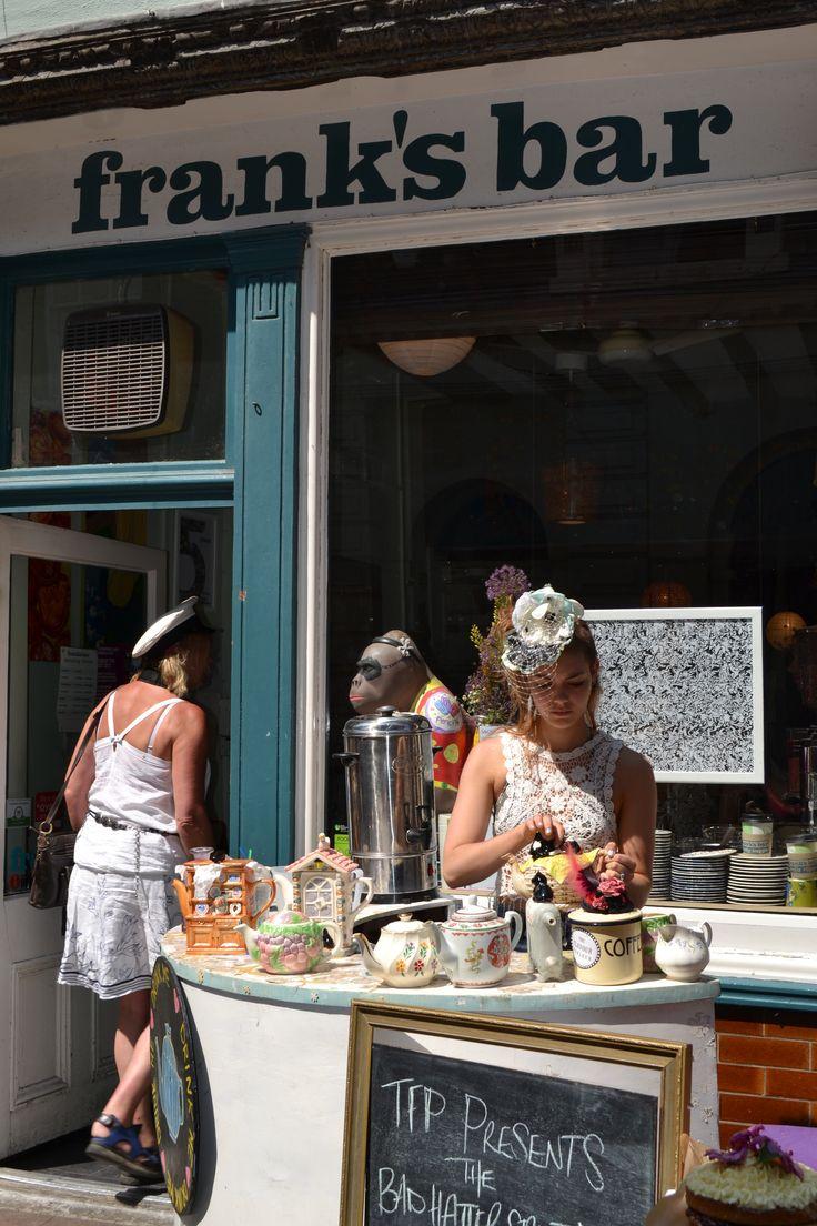 Bedford St Tea Party - Frank's Bar
