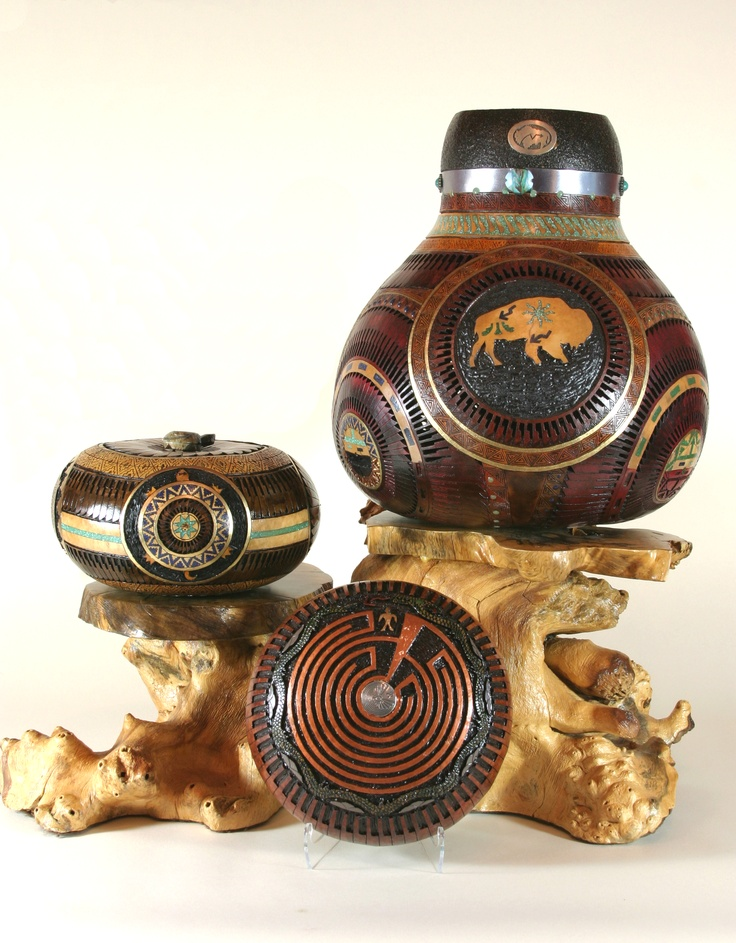 153 best gourd art images on pinterest gourd art gourd for Southwest arts and crafts