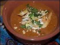 Sopa Tarasca Michoacana