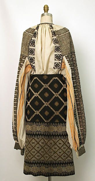Romanian ensemble Date: 19th century Culture: Romanian Medium: wool, cotton