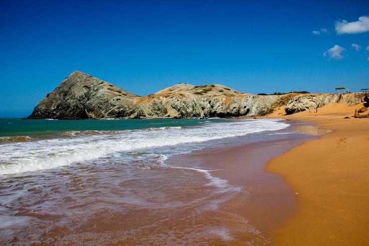 Where the desert meets the sea in Cabo de la Vela, Northern Colombia