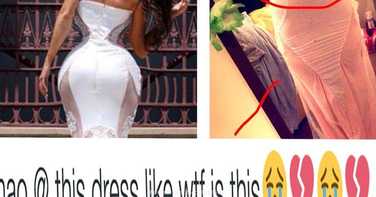 Bad online  So Sad Yet So Funny...Bad Online Order Dresses | Crazy | Pinterest ...