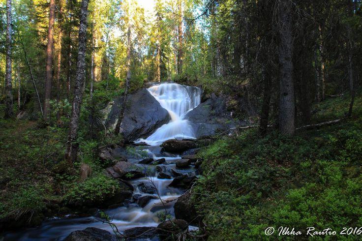 Tiimalasiputous eli Vähänojanköngäs Rovaniemellä