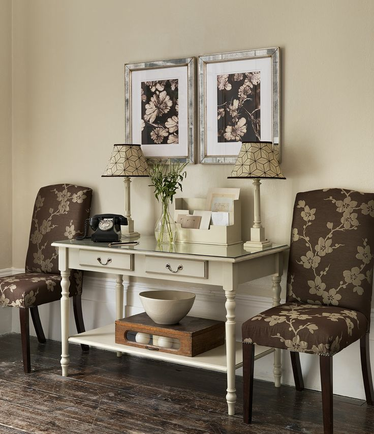 Superior French 2 Drawer Table   The Dormy House