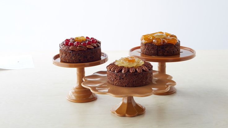 Growing up in Nutley, New Jersey, Martha used to help her neighbors Mr. and Mrs. Maus, who owned a bakery, make these delicious, buttery cakes filled with nuts and candied fruits. Read more about Martha's history with this dessert here.