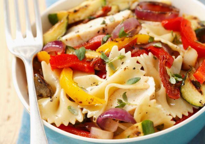 Receta Para Hacer Pasta Con Pollo Y Verduras Comida Y