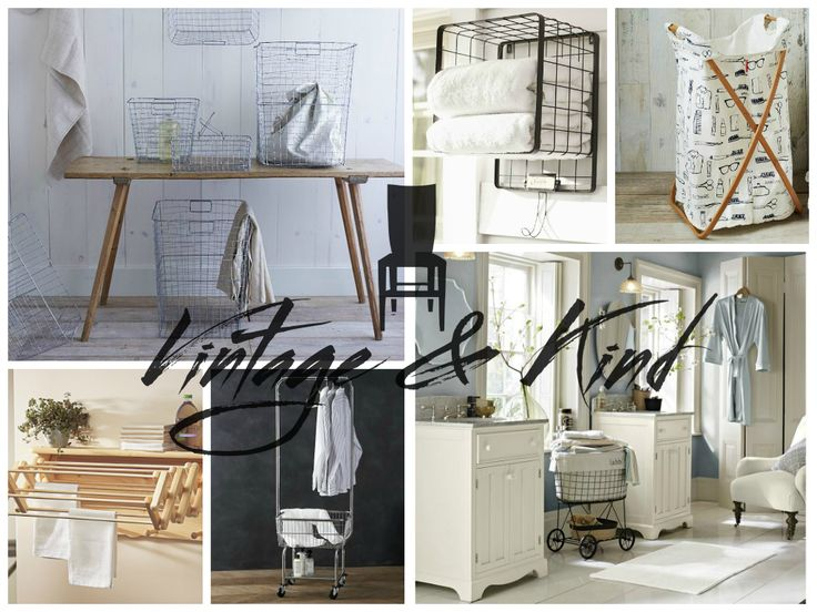 On Monday's Ask Emma Segment, we dished the dirt on organizing the cleanest room in your home with Laundry Room Themed Home Decor.  Read More On VintageAndKind.com