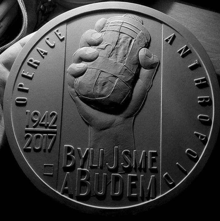 Pamětní mince k 75.výročí operace Anthropoid