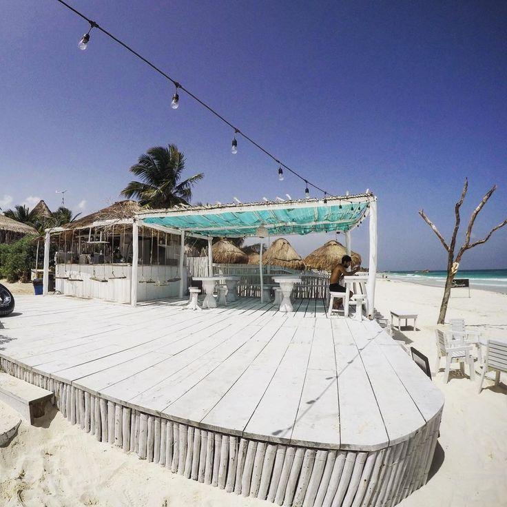 Paradise at CoCo Beach Club in Tulum, Mexico