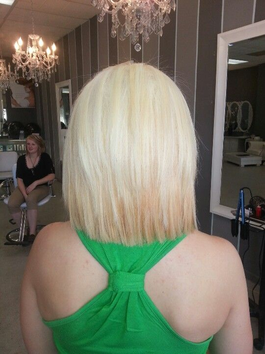 Short platinum blonde hair. I'm pretty sure this is my next move!