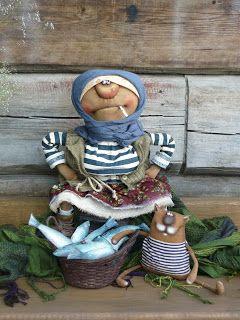 Tatiana Kozyreva, textile doll _ Татьяна Козырева, Лоскутная сказка,текстильная кукла