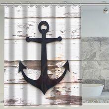 H + P #234 Горячие Продажа якорь Специальный водонепроницаемый Занавески Для Душа Ванная Комната декора, больше размеров SQ01003 @ H0234(China (Mainland))