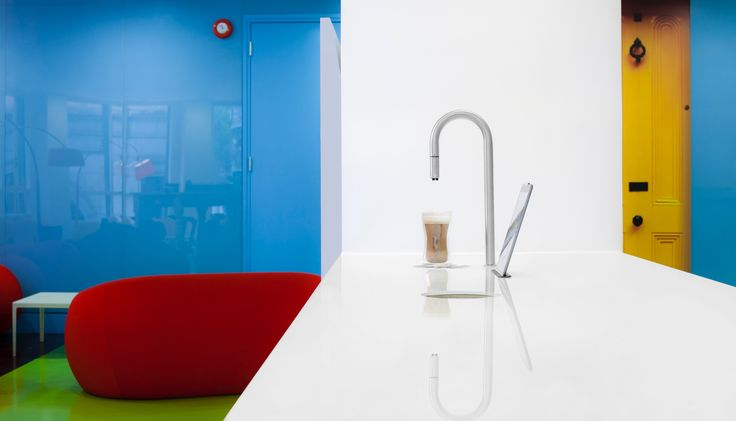 Bring some color to your warm beverage before you end the night or start the day #CoffeeMachine #Coffee #ModernDesign #Denmark