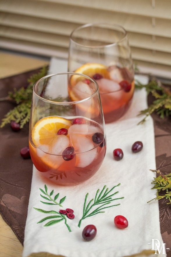 The Food Explorer's Favorite 50+ Alcoholic & Non-Alcoholic Christmas Punch Recipes: Bourbon Christmas Punch from Domestic Mixologist