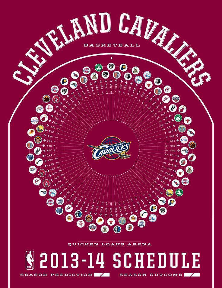Cleveland Cavaliers 2013-14 Schedule