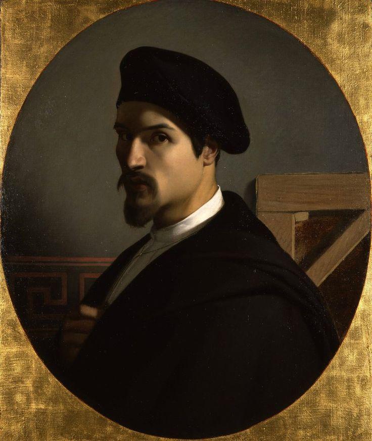Michel Dumas, Autoportrait, vers 1838. Huile sur toile, Musée des Beaux-Arts de Lyon